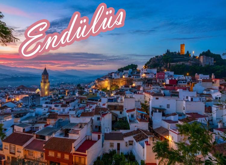 Endülüs Turu ( Malaga Gider - Madrid Döner)