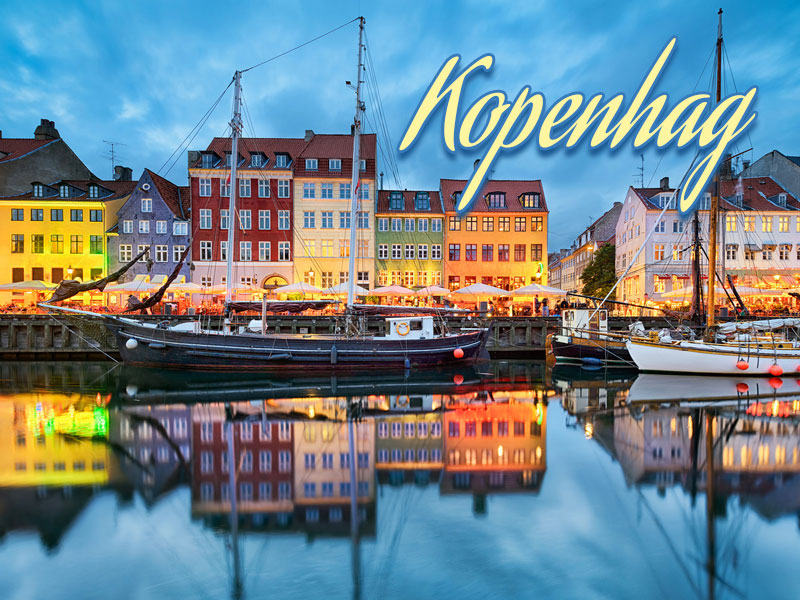 İskandinavya Turu (Kopenhag Başlar)